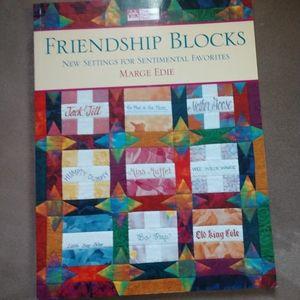 Friendship Blocks quilting book